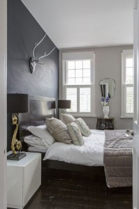 contemporary bedroom by Honey Bee Interiors love it all!!!!!