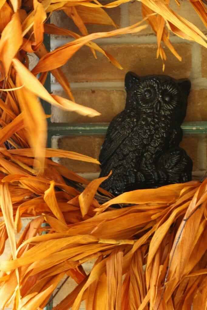 BSHT Owl in Wreath