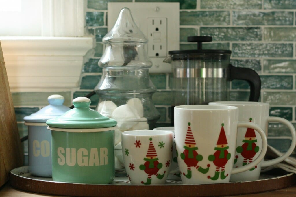 kitchen hot drink station