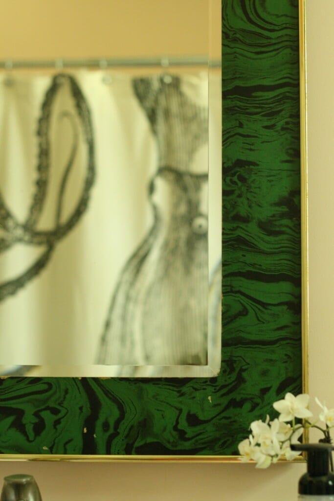 malachite mirror