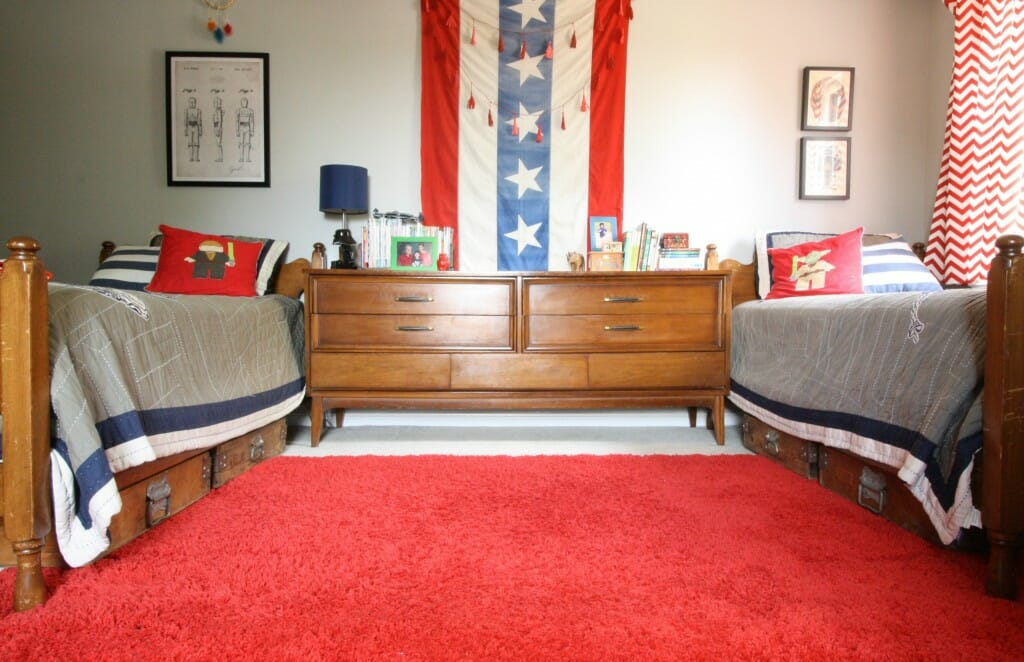 Star Wars & Americana Inspired Room