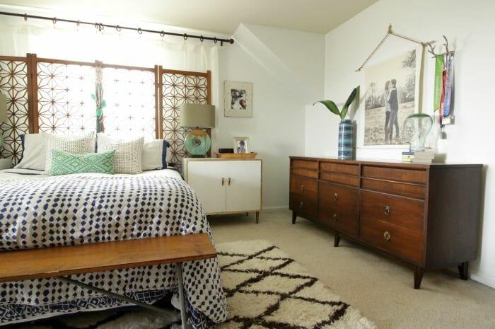Modern Bohemian Master Bedroom