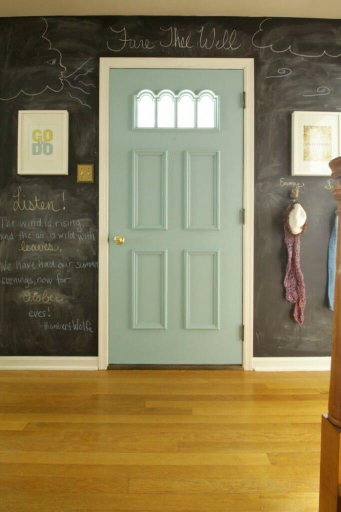 Fall chalkboard Wall