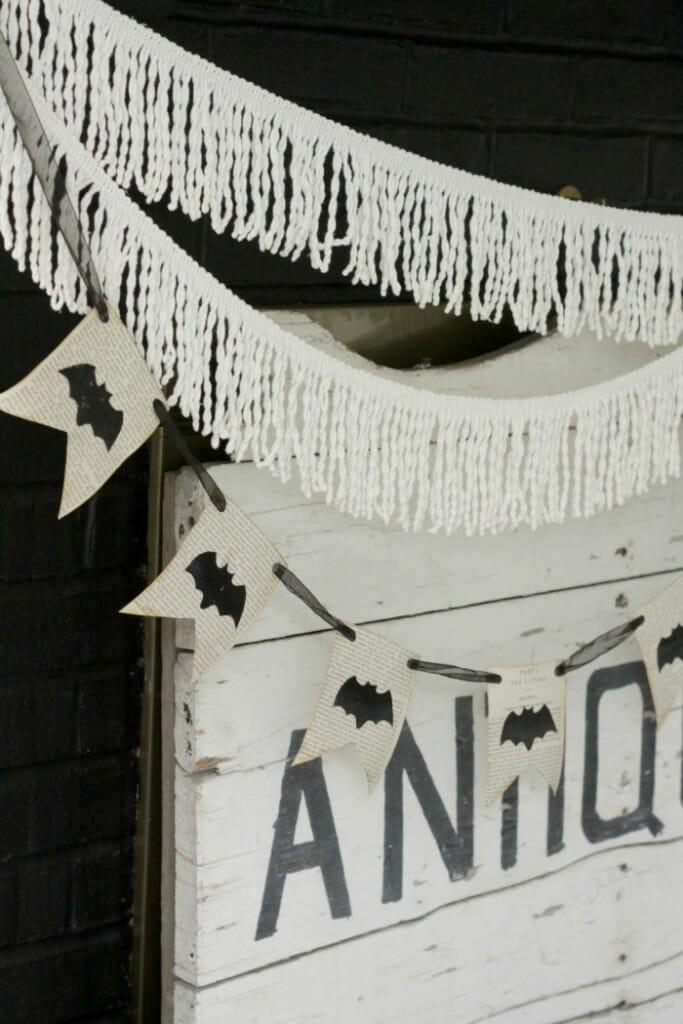 Bat book page banner