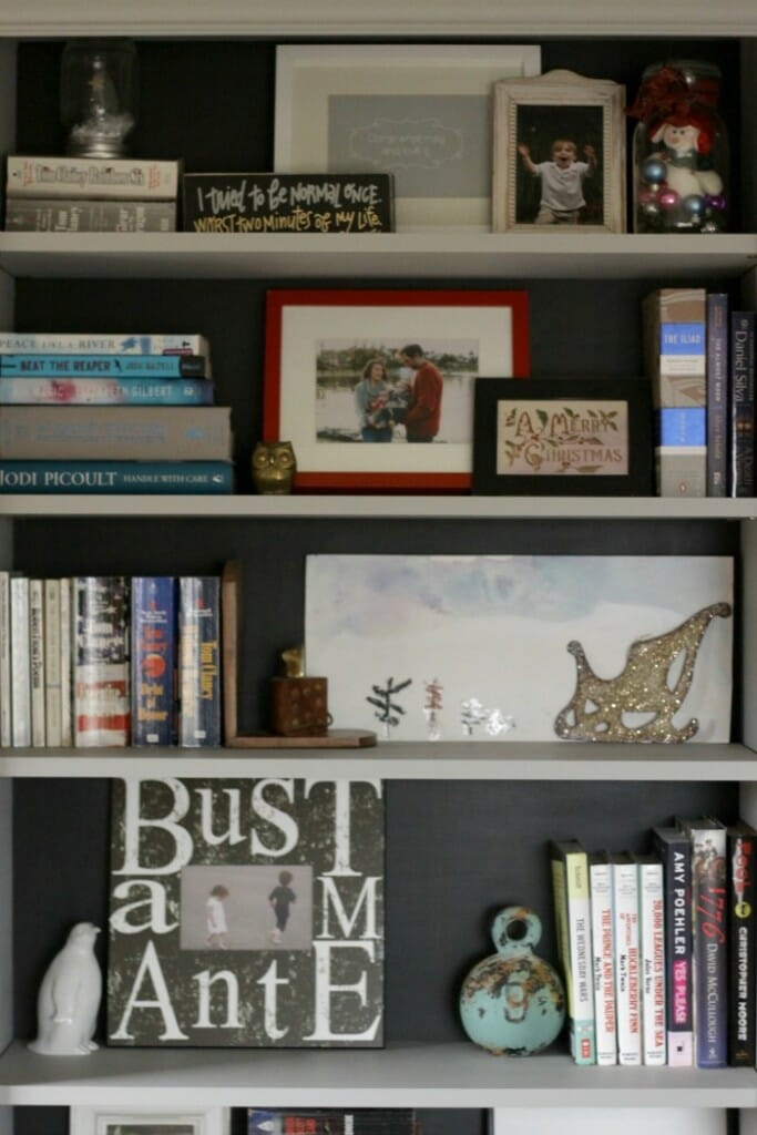 Black Backed Bookcases