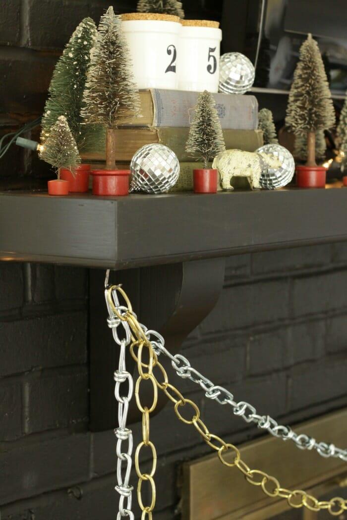 Chains as Christmas Garland
