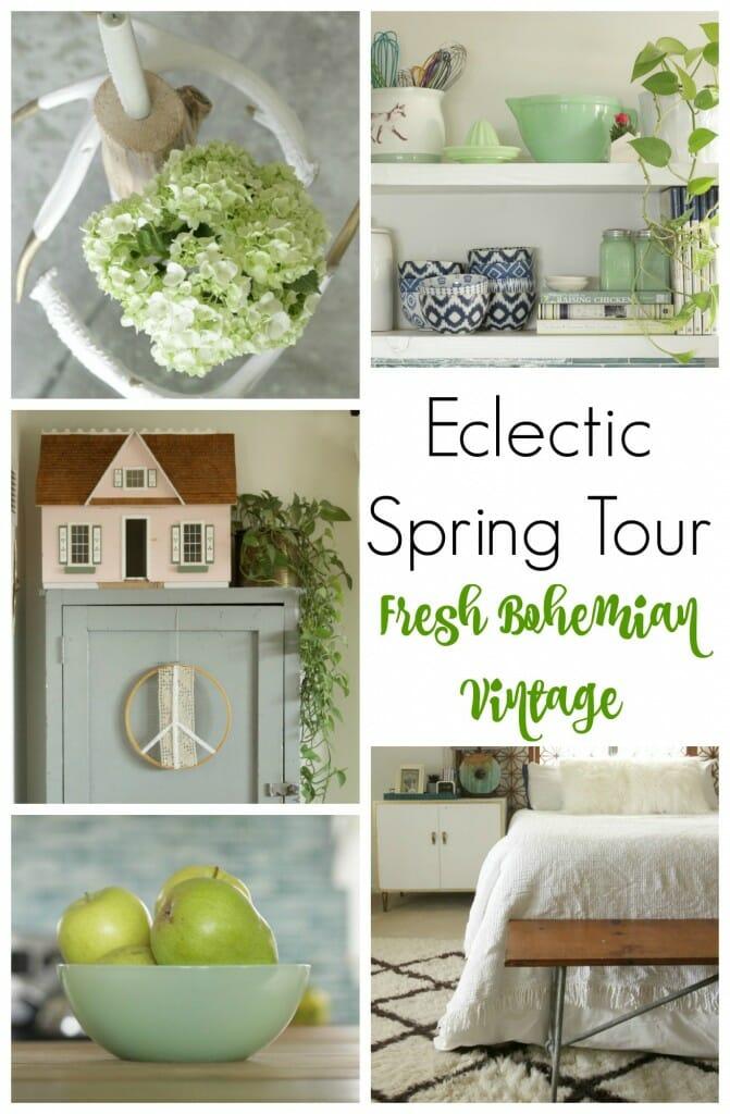 Eclectic Spring Tour Fresh Bohemian Vintage