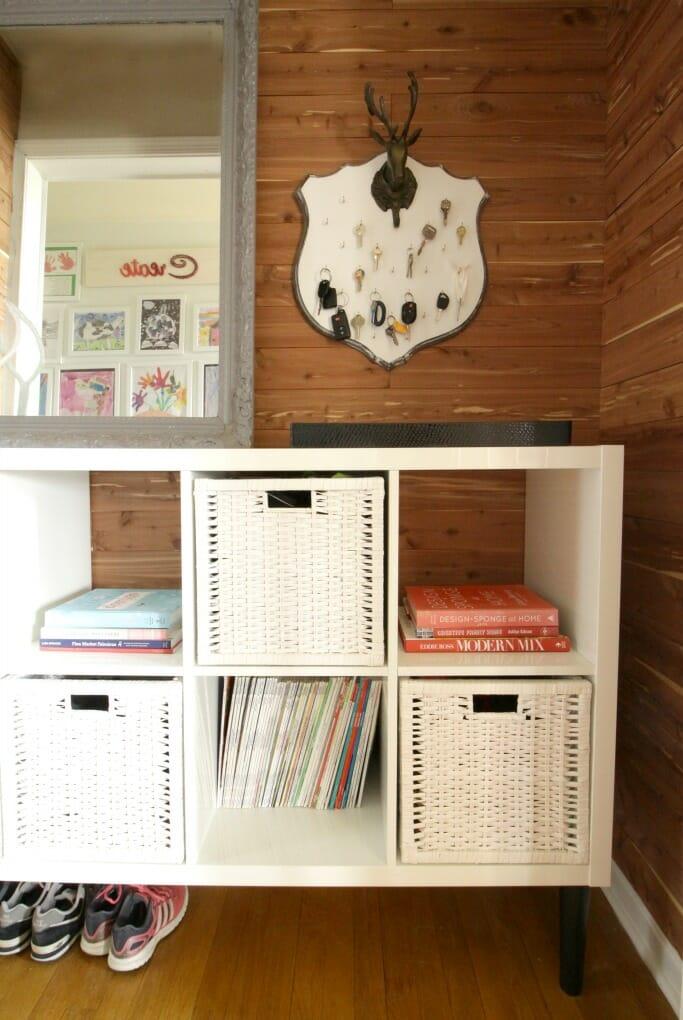 Living Room Sideboard Books
