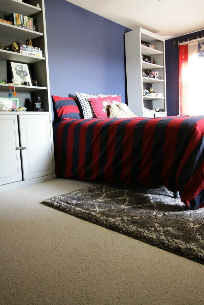 Moroccan Rug in Tween Room