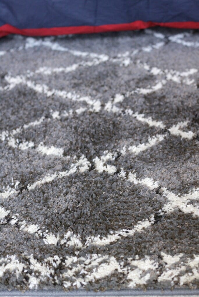 Details of Gray Moroccan Style Rug from Mohawk