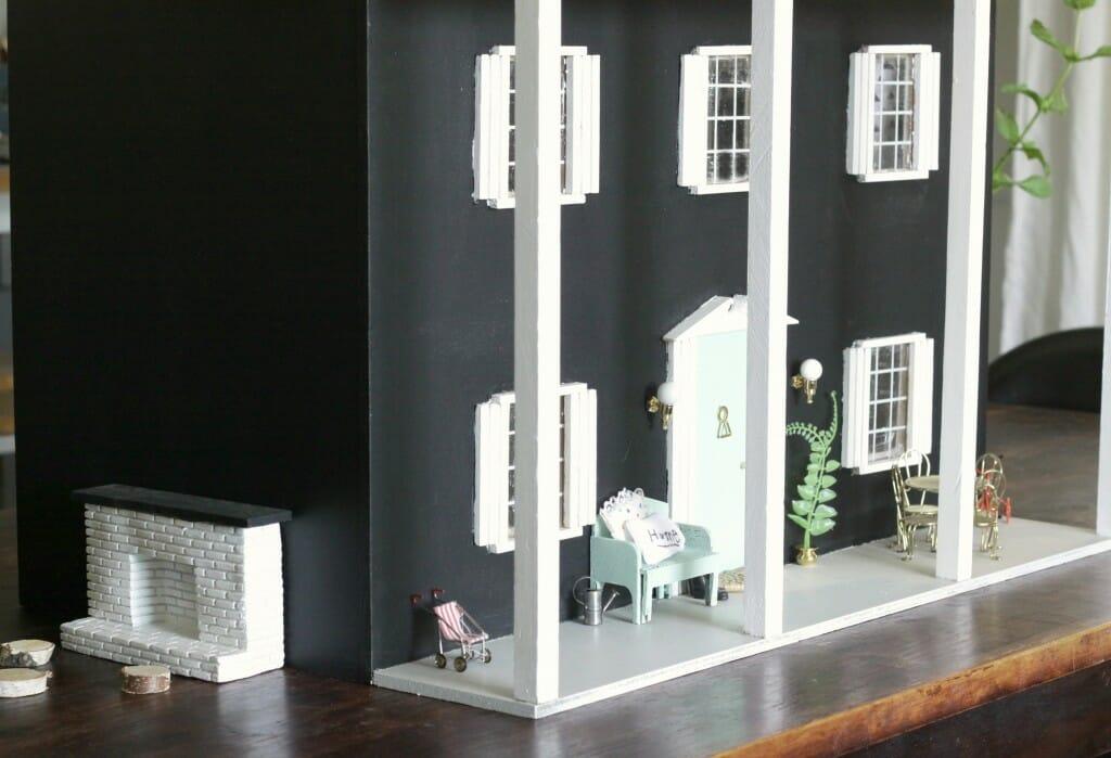 Miniature Outdoor Fireplace