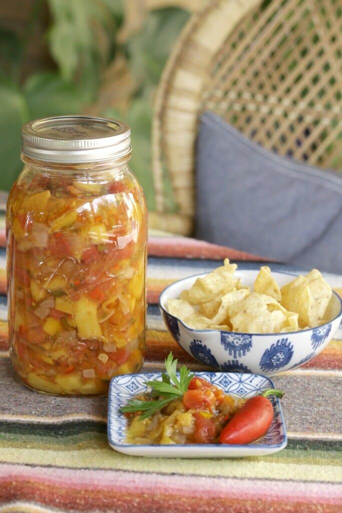 Canning-Peach-Salsa